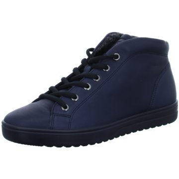 Ecco Komfort Stiefelette blau