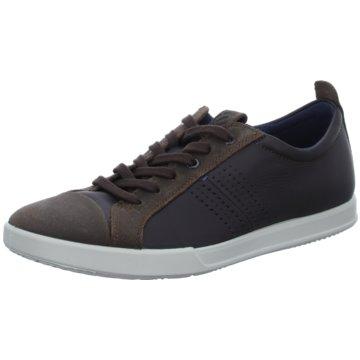 Ecco Sneaker Low braun