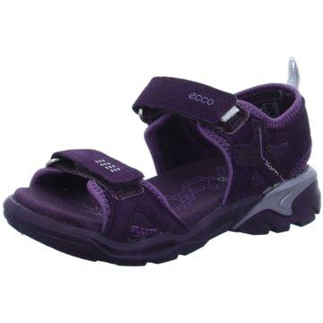 Ecco Offene Schuhe lila