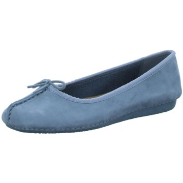 Clarks Komfort SlipperFRECKLE ICE blau