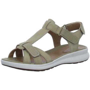 Clarks Komfort Sandale oliv