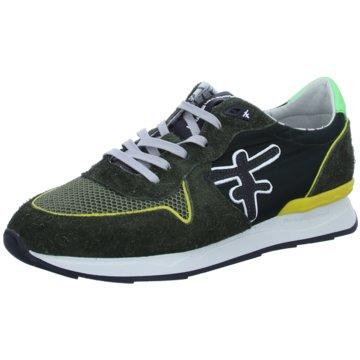 Floris van Bommel Sneaker Low grün