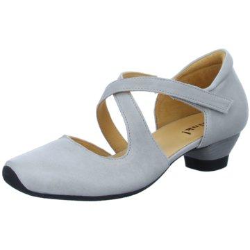 Think Komfort Sandale grau