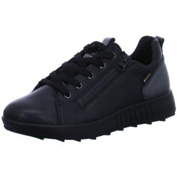 Legero Komfort Schnürschuh schwarz