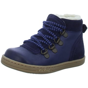 Kickers Winterboot blau