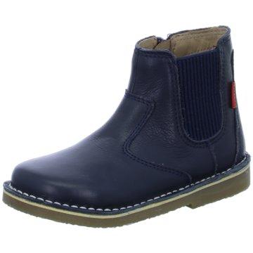 Kickers Halbhoher Stiefel blau