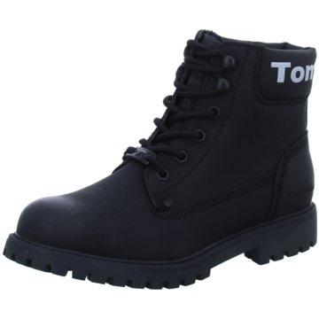 Tom Tailor Schnürboot schwarz