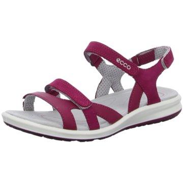 Ecco Komfort Sandale pink