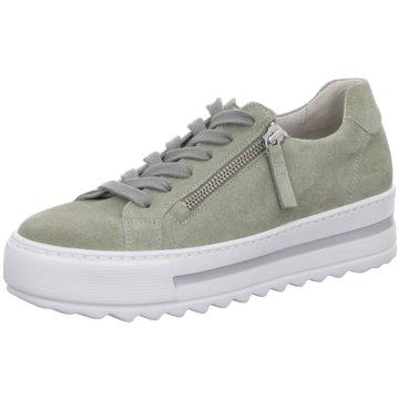 Gabor comfort Top Trends Schnürschuhe grün