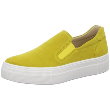 Legero Plateau Slipper gelb