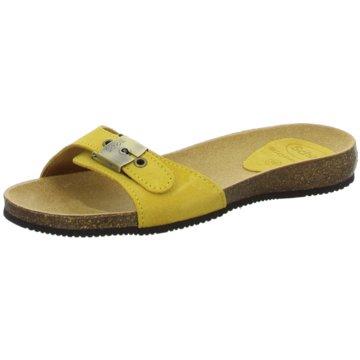 Scholl Klassische Pantolette gelb