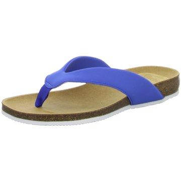 Scholl Zehentrenner blau