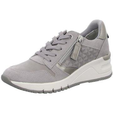 Tamaris Sneaker Wedges grau