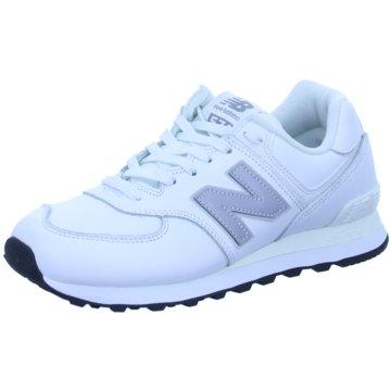 New Balance Sneaker LowML574 D - 657061-60 weiß