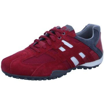 Geox Sportlicher SchnürschuhSneaker rot