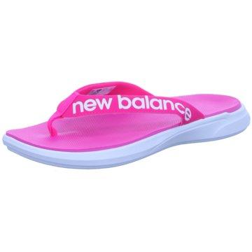 New Balance Bade- Zehentrenner pink