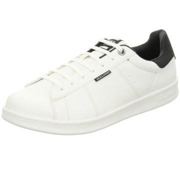 Jack & Jones Sneaker Low weiß