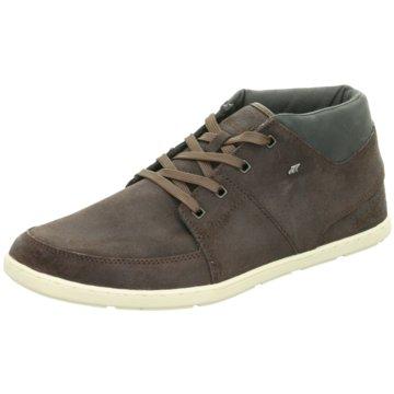 Boxfresh Sneaker HighCluff braun