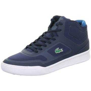 Lacoste Sneaker High blau