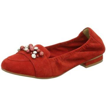 SPM Shoes & Boots Klassischer Ballerina rot