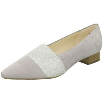 Peter Kaiser Flacher Pumps grau