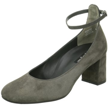 Paul Green Riemchenpumps grau