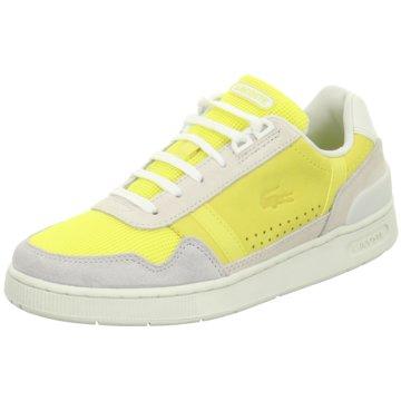 Lacoste Sneaker Low gelb