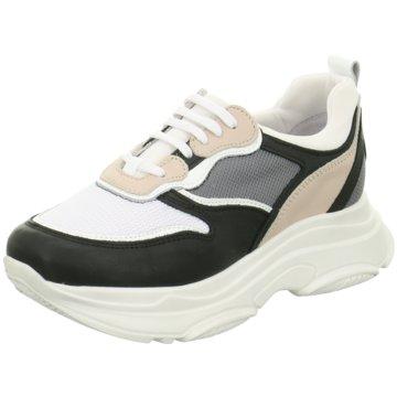 Poelman Plateau Sneaker weiß
