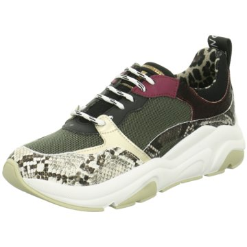 Meline Plateau Sneaker grün