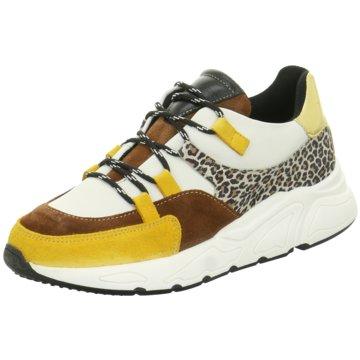 PS Poelman Plateau Sneaker gelb