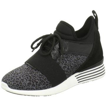 hip shoe style Sportlicher Schnürschuh schwarz