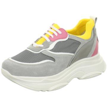 ELENA Italy Plateau Sneaker grau