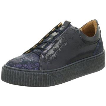 Online Shoes Plateau Sneaker blau