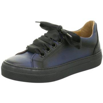 Dessy Klassischer Schnürschuh blau