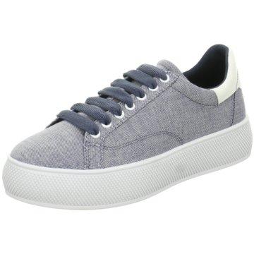 Esprit Plateau Sneaker blau