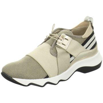 Donna Carolina Plateau Sneaker silber