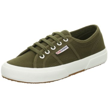 Superga Sneaker2750 Cotu Classic Sneaker Damen Schuhe Military Green oliv