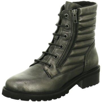 SPM Shoes & Boots Schnürboot silber