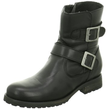 Online Shoes Biker Boot schwarz