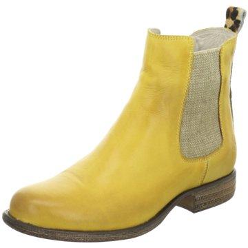 ELENA Italy Stiefelette gelb