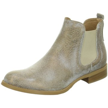Ladyshoes Chelsea Boot gold