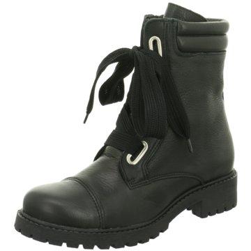 Online Shoes Schnürboot schwarz