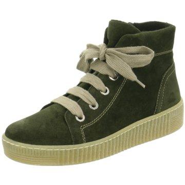 Gabor Komfort Stiefelette grün