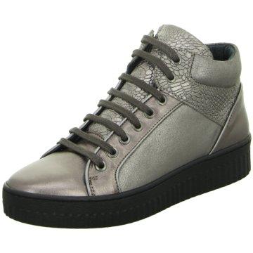 ShoeCOLATE Sneaker High silber