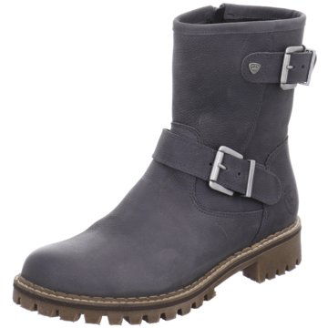 Black Biker Boot grau