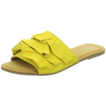 Apple of Eden Klassische PantoletteShelby 23 gelb