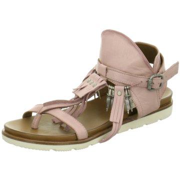 MACA Sandalette rosa