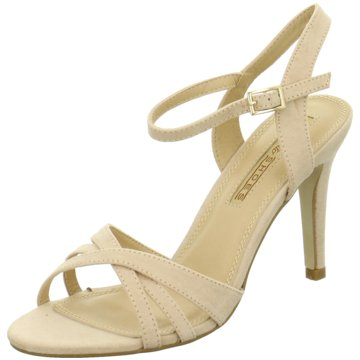 Buffalo RiemchensandaletteHigh Heel Sandal beige