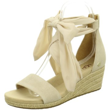 UGG Australia Espadrilles Sandalen beige