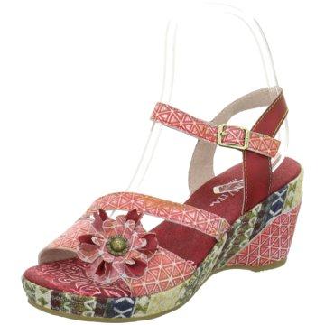 Laura Vita Komfort Sandale rot